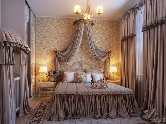 klasik avangard yatak odası