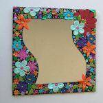 seramik-hamuru-ayna-cercevesi-susleme seramik hamuruyla dekoratif süs eşyaları yapın - hamurdan cerceve susleme 150x150