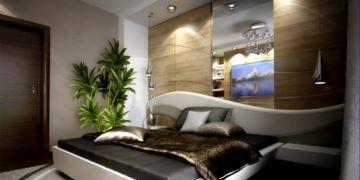 Lüks Yeni Stil Yatak Odası