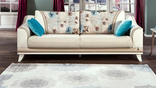 mondi mobilya kanepe modelleri - mondi kanepe venita krem mavi - Mondi Mobilya Kanepe Modelleri