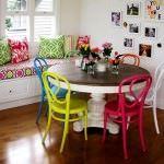 renkli kahvaltı masası evinizi güzelleştirmek adına fikirler