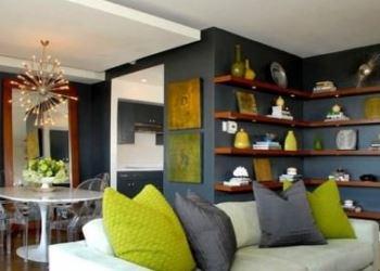 Renkli dekoratif ev aksesuarları