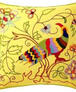 Desenli Renkli Kırlent Modelleri
