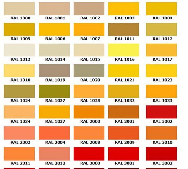 ÇBS Yeni Boya Renk Seçenekleri 20