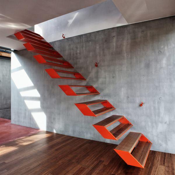 Dubleks Merdiven Tasarım Modelleri 8