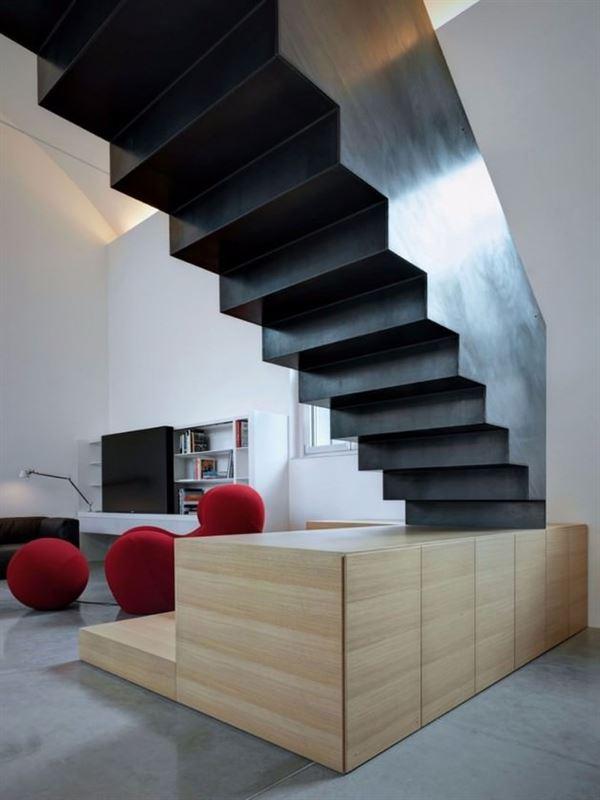Dubleks Merdiven Tasarım Modelleri 9
