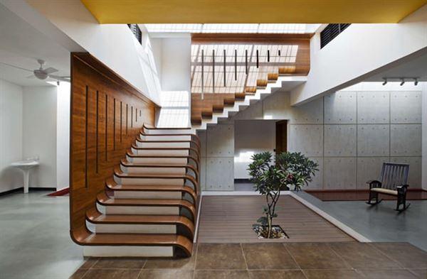 Dubleks Merdiven Tasarım Modelleri 11