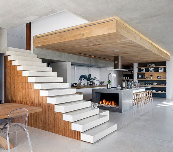 Dubleks Merdiven Tasarım Modelleri 14