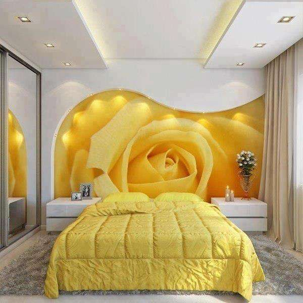 yatak odası duvar manzara resimleri