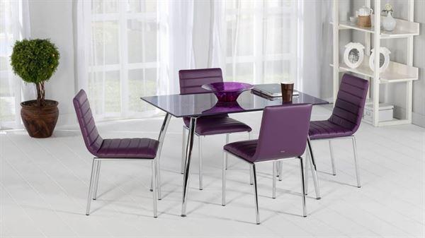 İstikbal Mobilya Mutfak Masa Sandalye Modelleri effect mor cam masa sandalye 1024x576