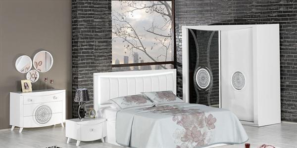 kilim mobilya yatak odası kilim mobilya yatak odası mobilyaları - kilim mobilya ayder beyaz yatak odasi - Kilim Mobilya Yatak Odası Mobilyaları