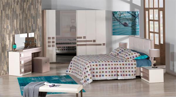 kilim mobilya modern yatak odası