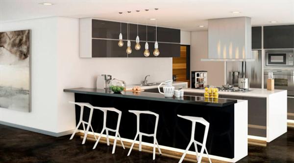 modern mutfak dolap tasarımı