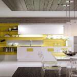 mutfak dekorasyonlarınıza dekorasyon fikirleri - sari beyaz mutfak dekorasyon 150x150 - Mutfak Dekorasyonlarınıza Dekorasyon Fikirleri
