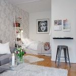 İsveç tarzı aydınlık daire dekorasyonu - isvec daire dekorasyon modeli 150x150