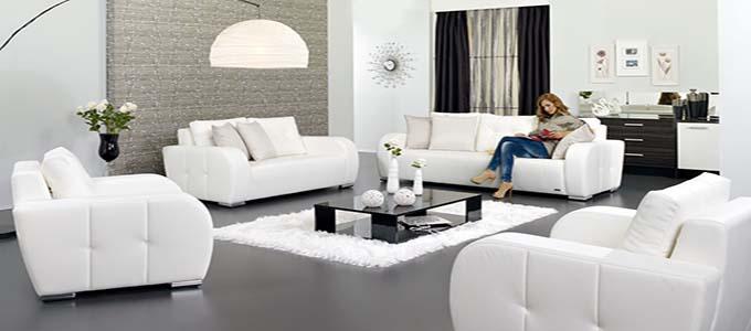 yeni moda salon dekorasyon fikirleri - beyaz dekorasyonlu salon modelleri