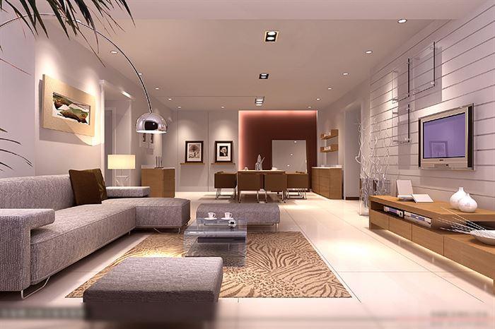 yeni moda salon dekorasyon fikirleri - dekoratif salon modelleri
