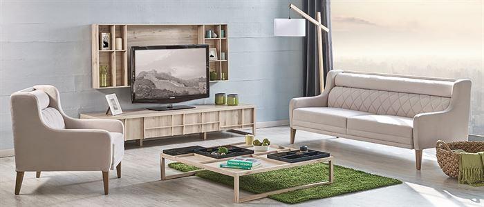 krem rengi modern koltuklar