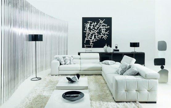 yeni moda salon dekorasyon fikirleri - kose takimli salon dekorasyon