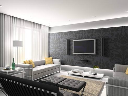yeni-moda-salon-oturma-gruplari yeni moda salon dekorasyon fikirleri - salon dekorasyonu koyu renk