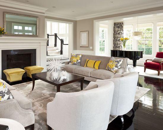 yeni-moda-salon-oturma-gruplari yeni moda salon dekorasyon fikirleri - somineli Salon Dekorasyon fikirleri