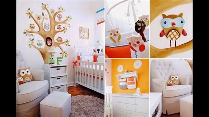 bebek odası duvar süsleme