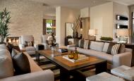 Çağdaş Modern Oturma Odası Dekorasyon