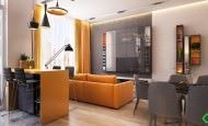 Turuncu Renk Sevenler İçin Modern Dekorasyon Stili
