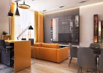 turuncu siyath dekorasyon modelleri