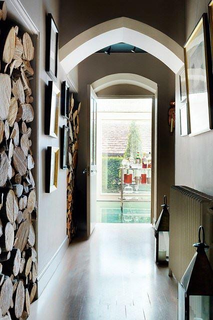 Klasik ve Contry Tarzı Hol Ve Antre Dekorasyon Fikirleri 12