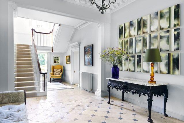 Klasik ve Contry Tarzı Hol Ve Antre Dekorasyon Fikirleri 4