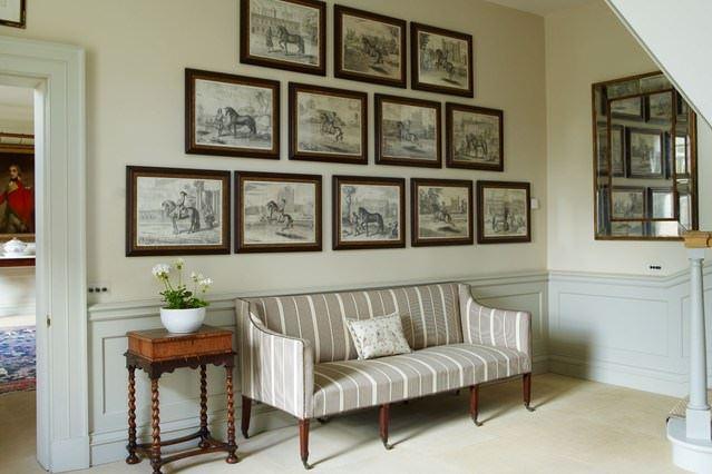 Klasik ve Contry Tarzı Hol Ve Antre Dekorasyon Fikirleri 9