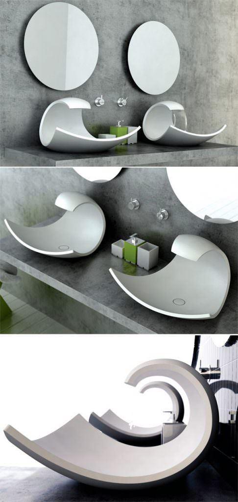 bauhaus-banyo-lavabo-modelleri modern lüks yeni tasarım banyo lavabo modelleri - banyo lavabo modelleri 8 - Modern Lüks Yeni Tasarım Banyo Lavabo Modelleri