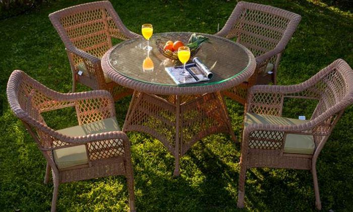Bahçe Masa Sandalye Takımları bahçe masa sandalye takımları - bellona acelya hasir masa takimi - Bahçe Masa Sandalye Takımları