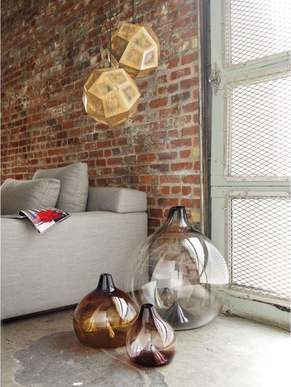 vazo modelleri - buyuk cam vazo - Dekoratif Modern Yeni Tasarım Vazo Modelleri
