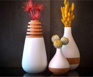 Dekoratif Modern Yeni Tasarım Vazo Modelleri