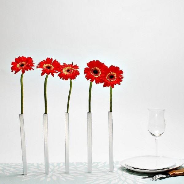 tek çiçeklik vazo
