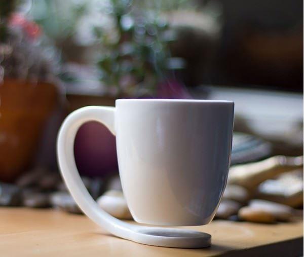 dekoratif kahve kupası
