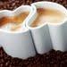 kalp şeklinde kahve kupası