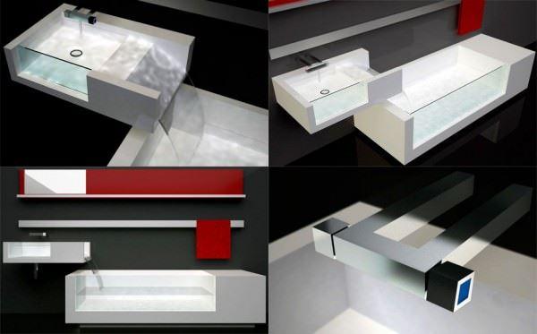 tekzen-banyo-lavabo modern lüks yeni tasarım banyo lavabo modelleri - banyo lavabo modelleri 11 - Modern Lüks Yeni Tasarım Banyo Lavabo Modelleri