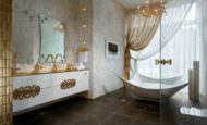 Modern Lüks Banyo Dekorasyonları