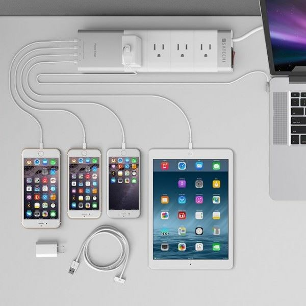 akıllı teknolojik ev aletleri - usb power strip for smart homes