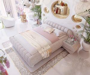 Benzersiz Modern Yatak Odası Dekorasyon Stilleri