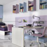 dekoratif çocuk odası rafları