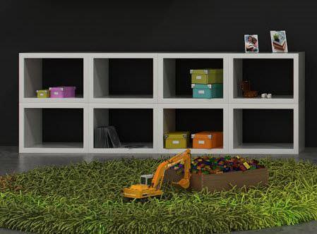 Çocuk Odası Raf Modelleri 8