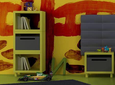 Çocuk Odası Raf Modelleri 9