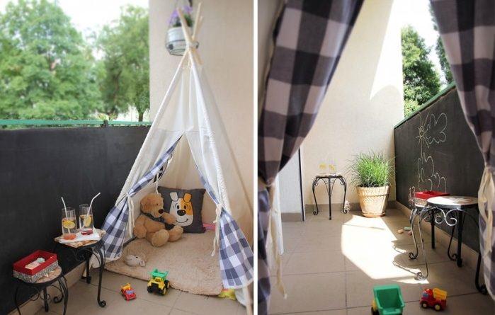 Çocuklar için Balkon Dekorasyon Fikirleri 1