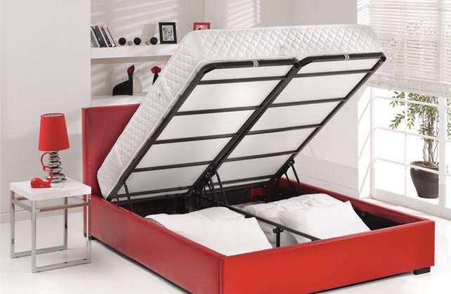Yatak Odası Baza Modelleri ve Depolama Fikirleri 19