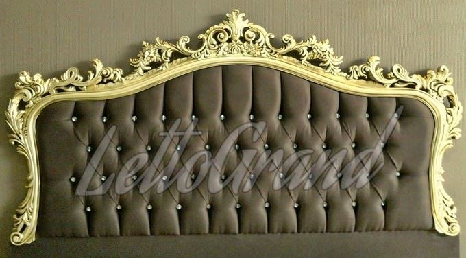 lettogrand-paris-altin-varakli-yatak-basi klasik başlık modelleri - lettogrand paris altin varakli yatak basi - Klasik Yatak Baza Başlık Modelleri