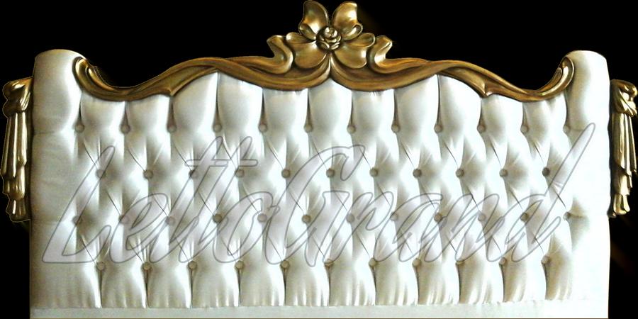 papatya-yatak-basi klasik başlık modelleri - papatya yatak basi - Klasik Yatak Baza Başlık Modelleri